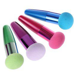 4pcs Makeup Cosmetic Liquid Cream Foundation Sponge Lollipop Brush