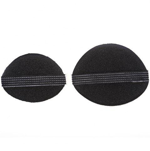 Unique 2pcs Woman Beauty Volume Hair Base Bump Styling Insert Pad Tool
