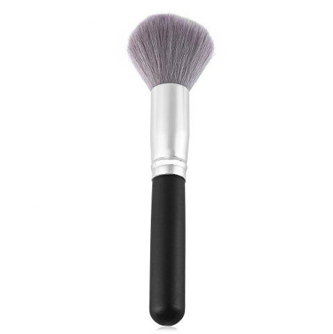 Sale Single Antibacterial Bamboo Charcoal Fiber Powder Blush Brush Tool BLACK