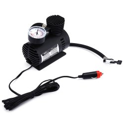 12V Electric Car Inflatable Mini Tire Pump Air Compressor with Tyre Pressure Monitor -
