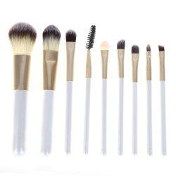 Tin Polyamide Cosmetic Foundation Makeup Brush Set