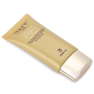 Nude Makeup Moisturizing Liquid Foundation Concealer Isolation Whitening Repair BB Cream - GOLDEN
