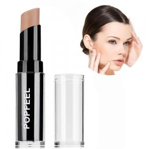 Singel Head Natural Full Cover Long Lasting Smooth Concealer - Light Coffee
