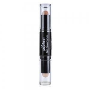 Double Head Natural Full Cover Long Lasting Smooth Concealer -