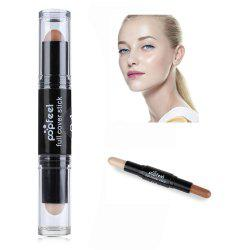 Double Head Natural Full Cover Long Lasting Smooth Concealer - #4