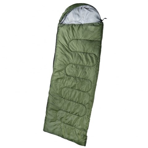 Trendy Outdoor Camping Envelope Style Hooded Thin Hollow Cotton Sleeping Bag - ARMY GREEN  Mobile