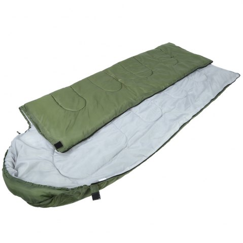 Online Outdoor Camping Envelope Style Hooded Thin Hollow Cotton Sleeping Bag - ARMY GREEN  Mobile