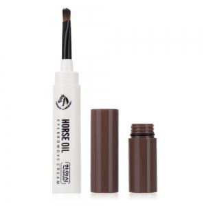 Waterproof Beauty Makeup Eyebrow Cream Mascara Gel with Brush -