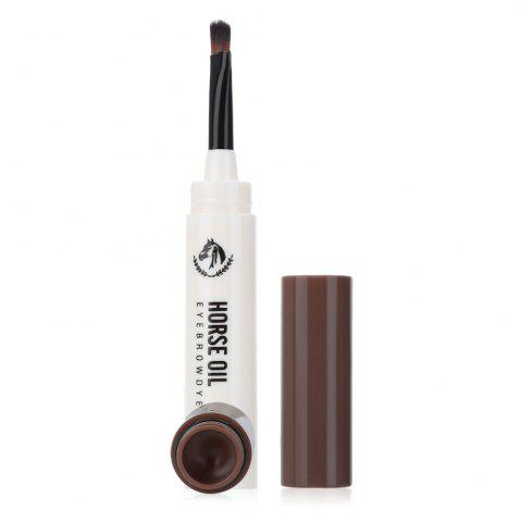 Shops Waterproof Beauty Makeup Eyebrow Cream Mascara Gel with Brush