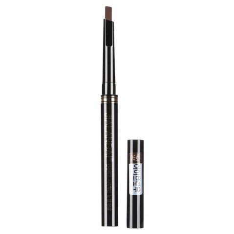 Outfits Single Headed Rotary Automatic Pencil Waterproof Long Lasting Makeup Eyebrow Pen - CHOCOLATE  Mobile