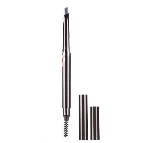 Buy Double Head Rotary Automatic Pencil Waterproof Long Lasting Makeup Eyebrow Pen