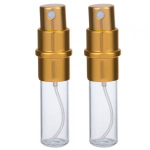 2pcs Aluminum High-grade Metal Cosmetics Travel Portable Perfume Bottle -