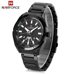 Naviforce NF9038M Male Quartz Watch Date Day Display 3ATM Wristwatch -