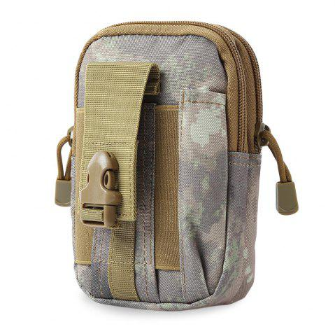 Waist Bag Compatible Molle EDC Outdoor Gear - Desert Camouflage - 40