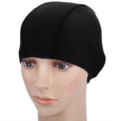 Fabric Protect Ears Long Hair Swimming Sports Cap Ultrathin Adult Bathing Hat