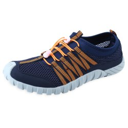 Outdoor Mesh Skid Resistance Color Block Men Breathable Climbing Shoes -