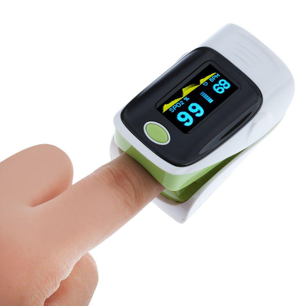 Outfits Instant Read Fingertip Digital Pulse Oximeter Health Monitoring Display