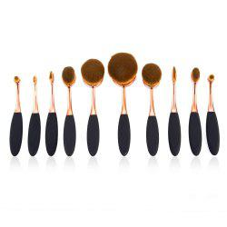 10pcs Professional Multi-size Cosmetic Makeup Brushes Sets -