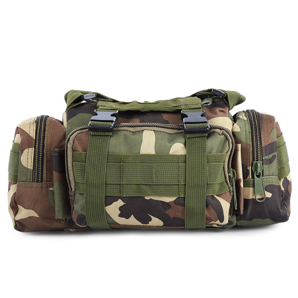 Affordable Utility Sport 3P Military Duffle Waist Pack Molle Assault Shoulder Bag