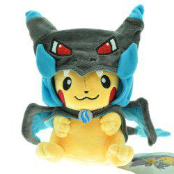 Pokemon Pikachu 9 Inch Plush Doll Stuffed Cartoon Toy