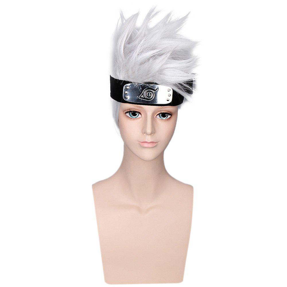 Outfits Handsome Boy Silver Grey Short Anime Cosplay Wigs