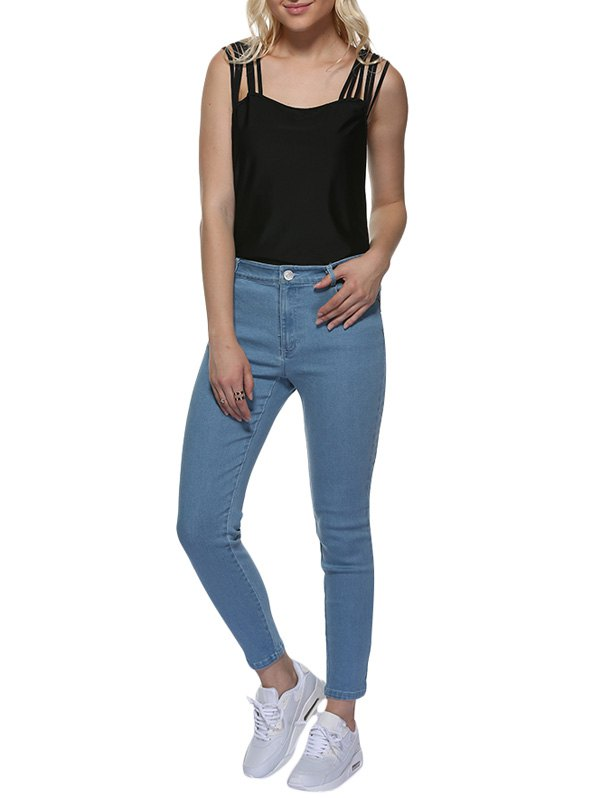 Unique Mid Waisted Skinny Jeans