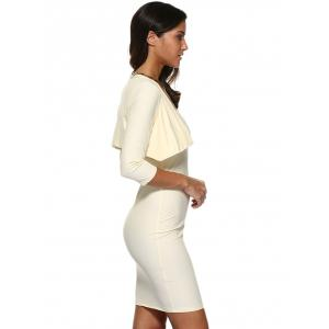 Strapless Bodycon Tube Dress and Jacket Twinset -