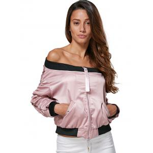 Sweet Off The Shoulder Ruched Double Pocket -