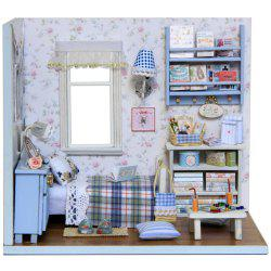 CUTEROOM H - 003 DIY Wooden Doll House Furniture Handcraft Miniature Box Kit