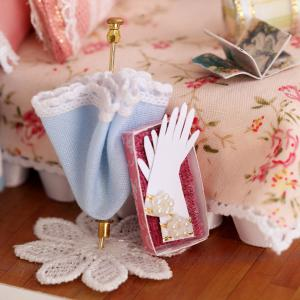 CUTEROOM H - 010 DIY Wooden Doll House Furniture Handcraft Miniature Box Kit - Happy Moment - COLORMIX