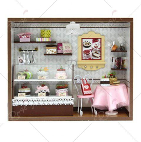 Best CUTEROOM C - 004 DIY Wooden Doll House Furniture Handcraft Miniature Box Kit - Sweet Cake - COLORMIX  Mobile