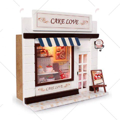 Outfit CUTEROOM C - 004 DIY Wooden Doll House Furniture Handcraft Miniature Box Kit - Sweet Cake - COLORMIX  Mobile