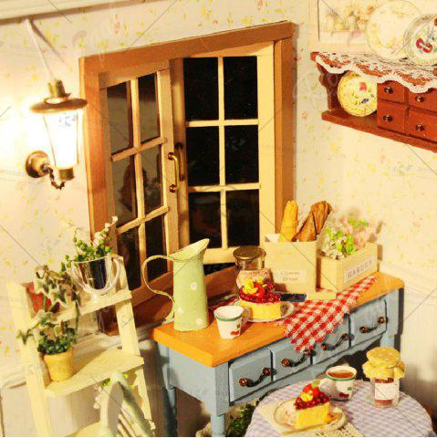 Outfit CUTEROOM F - 002 DIY Wooden Doll House Furniture Handcraft Miniature Box Kit - Pastoral Life - COLORMIX  Mobile