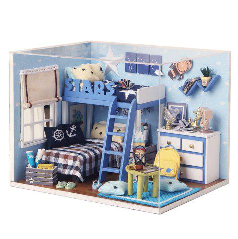 Shops CUTEROOM H - 005 DIY Wooden Doll House Furniture Handcraft Miniature Box Kit - Star Tale COLORMIX