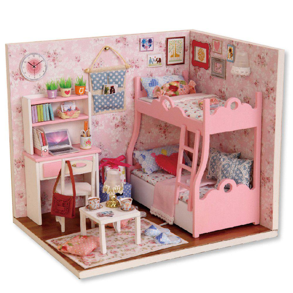 Buy CUTEROOM H - 012 - A DIY Wooden Doll House Furniture Handcraft Miniature Box Kit - Blossom Age