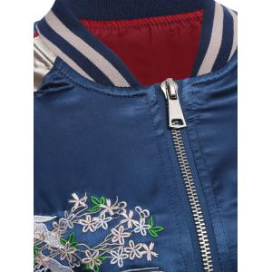 Fish Embroidery Souvenir Jacket -