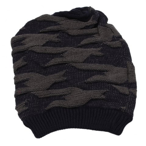 Shop Casual Winter Elastic Band Warm Ear Care Knitted Hat for Men