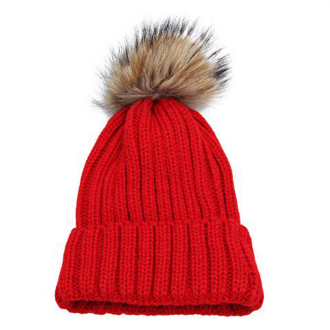 Buy Fashionable Winter Venonat Design Pure Color Knitted Hat for Women