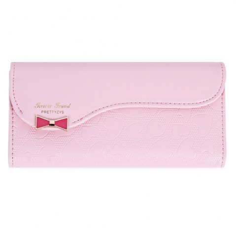 New Guapabien Bowknot Cute Love Girls Long Wallet Purse