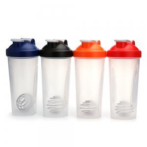 600ML Protein Blender Shaker Mixer Cup Drink Whisk Ball Bottle -