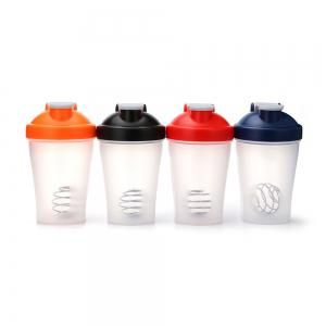 400ML Protein Blender Shaker Mixer Cup Drink Whisk Ball Bottle -
