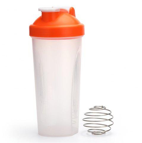 Best 600ML Protein Blender Shaker Mixer Cup Drink Whisk Ball Bottle