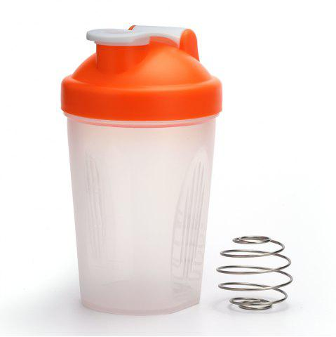 Store 400ML Protein Blender Shaker Mixer Cup Drink Whisk Ball Bottle