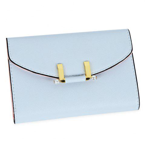 Store Lady Simple Geometric Mini Short Clutch Wallet Card Holder Coin Purse