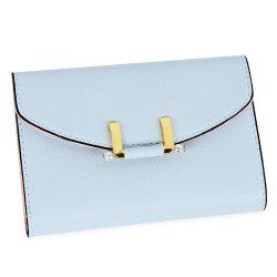 Lady Simple Geometric Mini Short Clutch Wallet Card Holder Coin Purse -