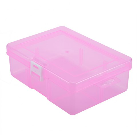 Discount Transparent Plastic Jewelry Bead Cosmetics Storage Box