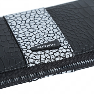 Large Capacity Zipper Women Clutch Wallet -