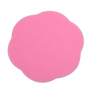 3D Lace Flower Silicone Fondant Cake Decoration Mold - PINK