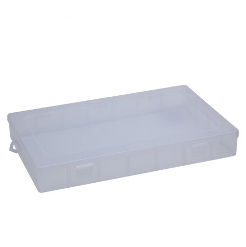 Hot Multifunctional Transparent Plastic Fishing Tackle Storage Box - TRANSPARENT  Mobile
