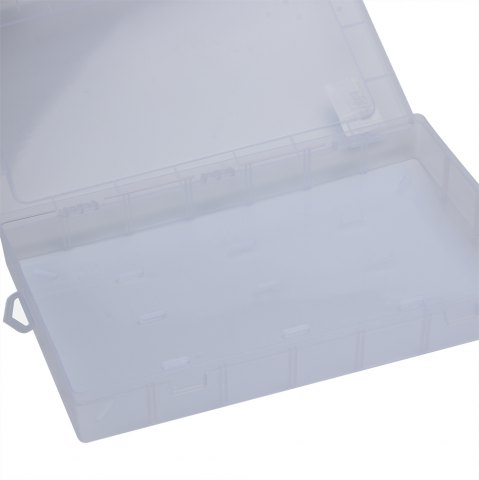 Fashion Multifunctional Transparent Plastic Fishing Tackle Storage Box - TRANSPARENT  Mobile